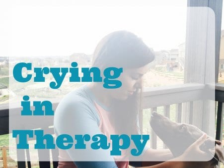What Therapists really think when you cry in session
