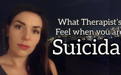 What Therapists Think and Feel when you are Suicidal