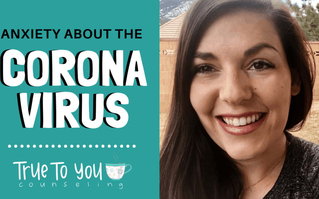 How to lessen your ANXIETY about the Coronavirus I 4 Tips